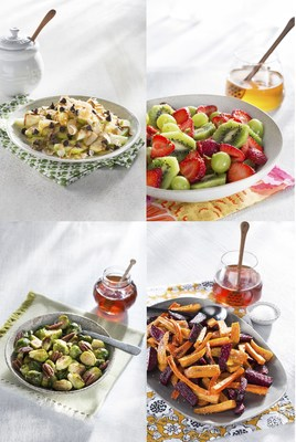 Registered dietitian Mitzi Dulan has created four honey-filled recipes that inspire picky-eaters to enjoy fruits and vegetables.