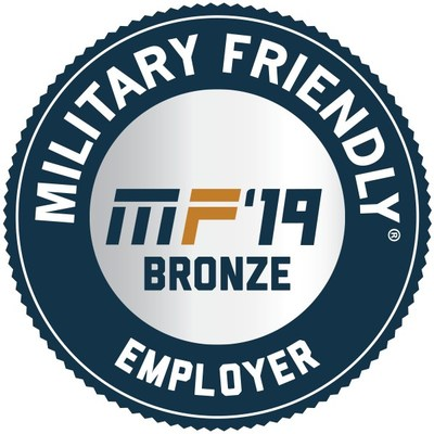 Cubic Corporation Recognized as 2019 Military Friendly Employer by VIQTORY