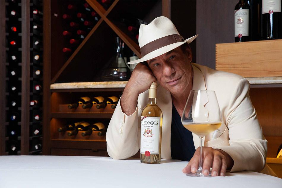 Robert Davi and Georgos Greek Wine