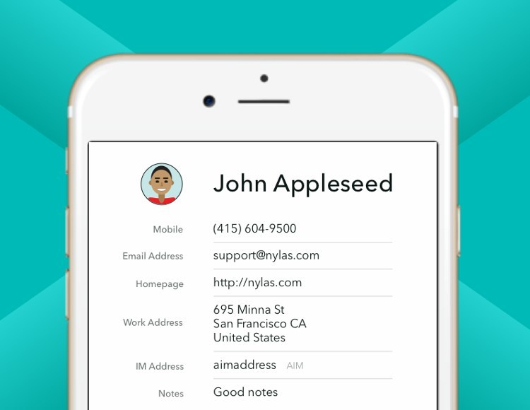 Nylas powers email, calendar, and contacts sync between any email provider in the world and software applications.