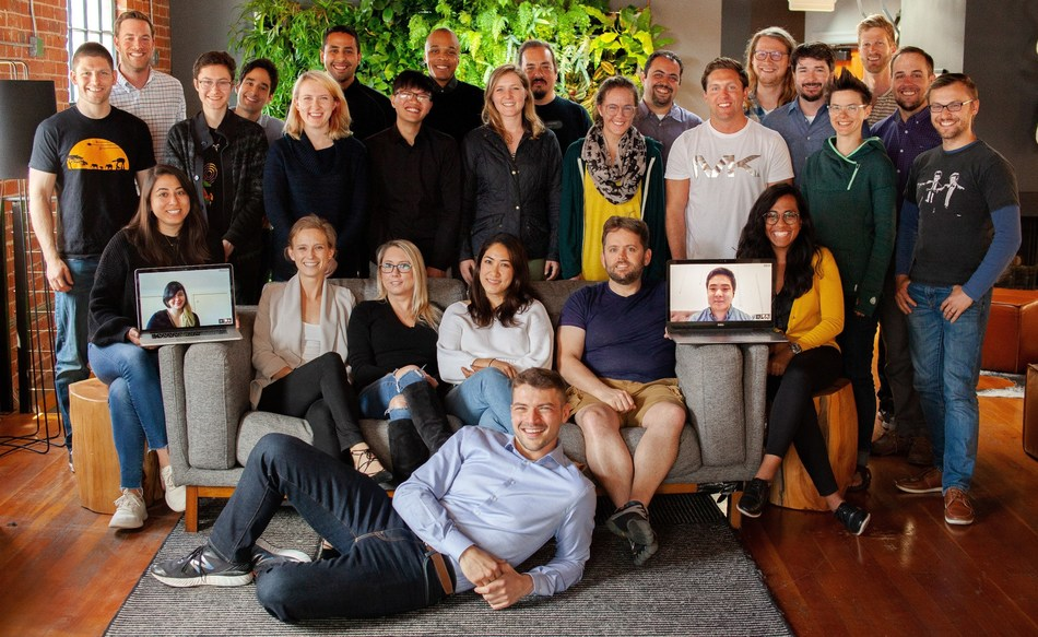 The Nylas team in their San Francisco headquarters.