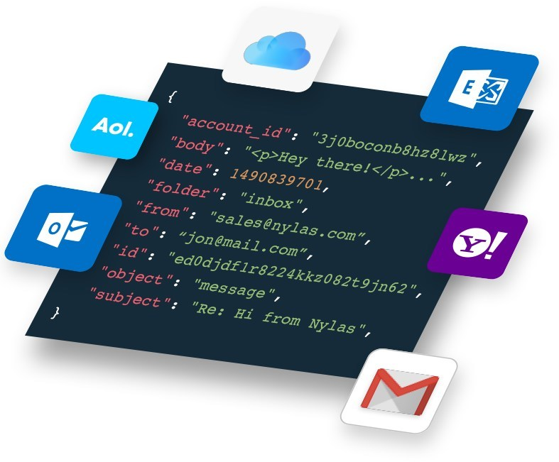 The Nylas API powers software applications with email, calendar, and contacts sync from any of the 4.5 billion inboxes in the world.