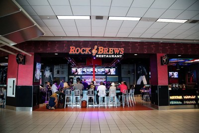 Rock & Brews is one of the many new concessions at ONT.
