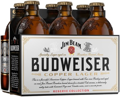 The third installment in Budweiser's Reserve Collection, Copper Lager, will be available nationwide through the holiday season.