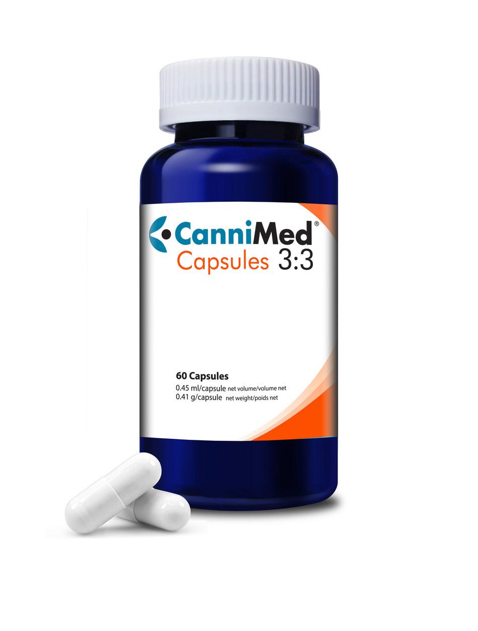 CanniMed Capsules 3:3 (CNW Group/Aurora Cannabis Inc.)