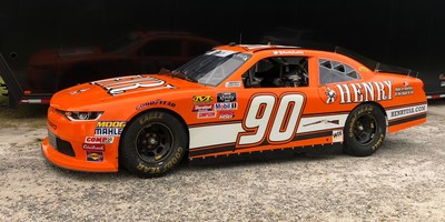 The #90 Chevrolet Camaro driven by Andy Lally marks the firearms manufacturer's first foray into NASCAR.