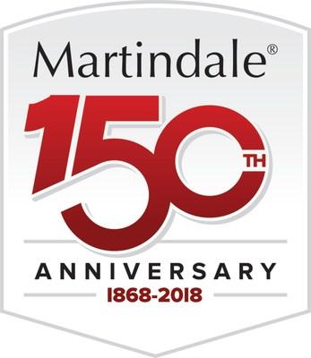 Martindale 150th Anniversary logo