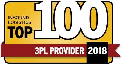 PT – Inbound Logistics Top 100 3PL Provider 2018