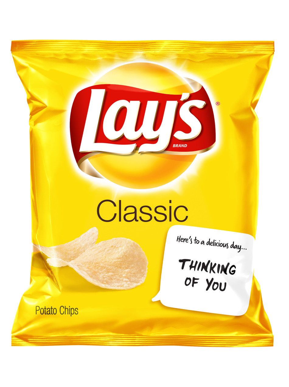 Frito-Lay Variety Packs Snackable Notes