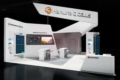Cabine Hanwha Q Cells na Intersolar South America 2018