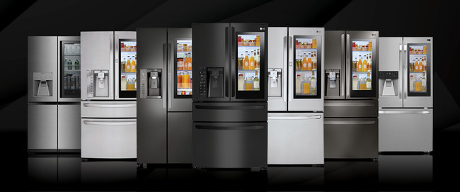 LG Electronics USA is doubling its award-winning line of LG InstaView™ Refrigerators in response to growing consumer demand, offering consumers even more ways to customize their kitchen with their choice of configuration and finish – including PrintProof™ matte black, as well as black stainless and traditional stainless steel.