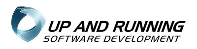 """Up and Running Software Logo 