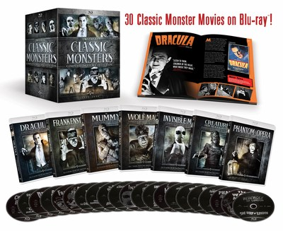 From Universal Pictures Home Entertainment: Universal Classic Monsters - Complete 30-Film Collection
