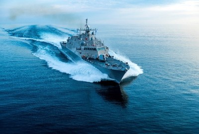 The future USS Wichita completed Acceptance Trials in Lake Michigan this summer.