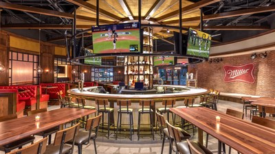 A first-of-its kind, flagship Miller Tavern & Beer Garden opened within Texas Live! in the Arlington Entertainment District on August 9th.