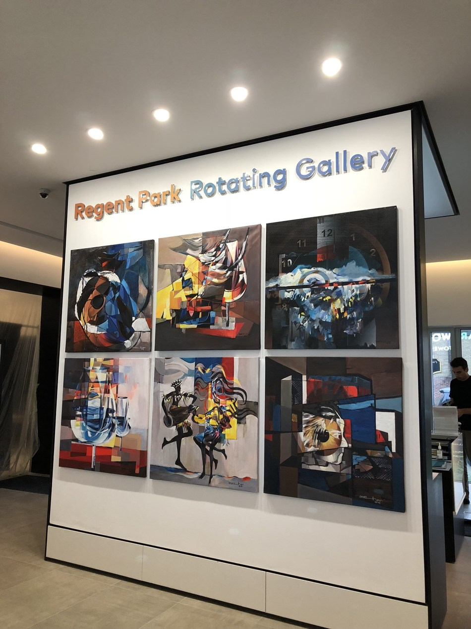 Regent Park Rotating Gallery (CNW Group/The Daniels Corporation)