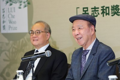 Dr. Lui Che Woo thanks everyone in helping to shape the LUI Che Woo Prize for the past three years, and urges for continual support from the public and beyond to join hands in making the world a better place for all. (PRNewsfoto/LUI Che Woo Prize Limited)