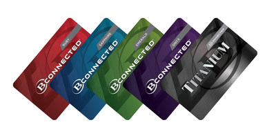 The all-new B Connected program features five player tiers: Ruby, Sapphire, Emerald, Onyx and Titanium.  For more information, visit www.BConnectedOnline.com