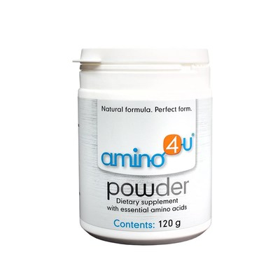 Amino4u Powder contains all eight amino acids and can be easily broken down by the body.