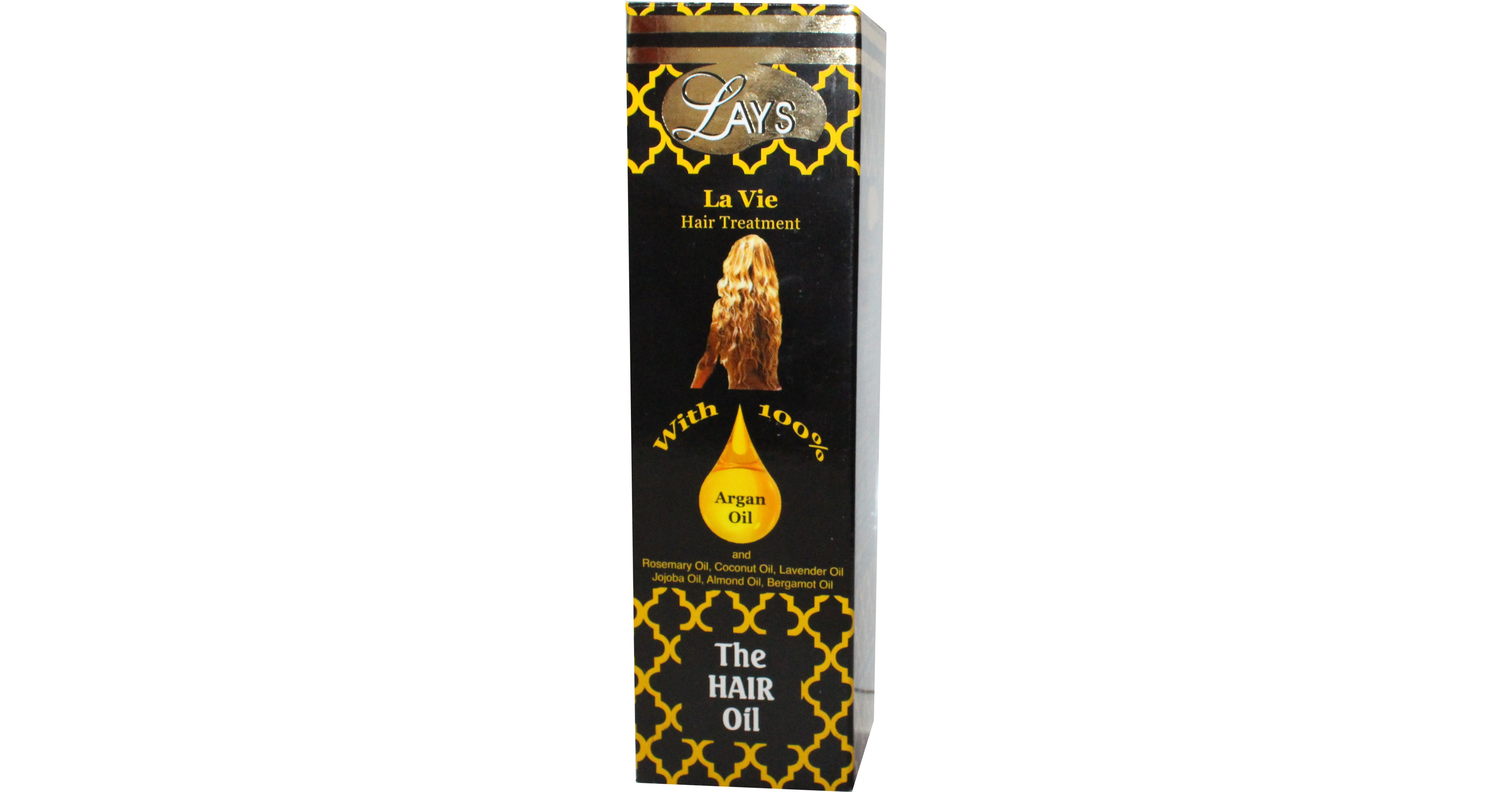 Marshalls Traditional Health Care features its Lays Hair Oil for National Hair Loss Awareness Month