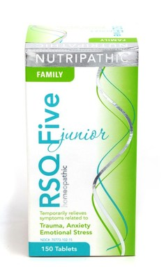 RSQ Five Junior is a combination of homeopathic and flower essence remedies.
