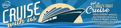 The cruise incentive runs through August 31, 2018.