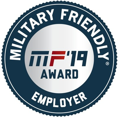 Aviation Technical Services was awarded the Military Friendly Employer Award designation in 2019 based on their commitment, effort and success in creating sustainable and meaningful benefit for the military community.