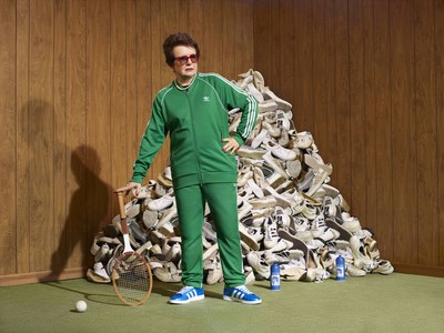 Billie Jean King partners with adidas to launch Here to Create Change campaign