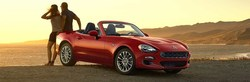 Glendale FIAT dealership has specials on 2018 500e, 124 Spider for Labor Day