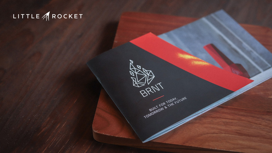 Cannabis lifestyle brand, BRNT Designs, announced Little Rocket as its creative agency of record. (CNW Group/BRNT Designs)
