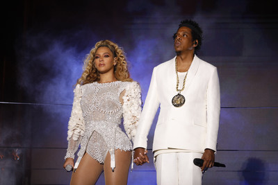 JAY-Z and Beyonce by Raven Varona