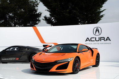 Acura Takes Center Stage at Monterey Car Week With Global Debut of 2019 NSX