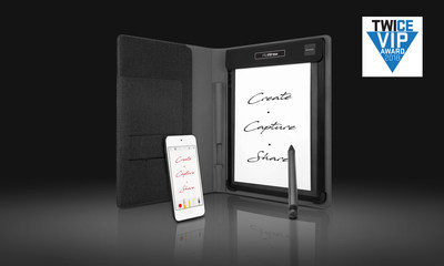 RoWrite brings the traditional notepad into the digital age to capture ideas, notes, and drawings. Using standard ink and paper, handwritten notes and sketches are captured as you put them to paper.