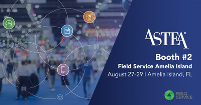 See the new field service management software version from Astea International at Booth #2 at Field Service Amelia Island.