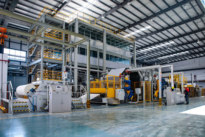 The introduction of the German KraussMaffeiBerstorff TPO coil production line