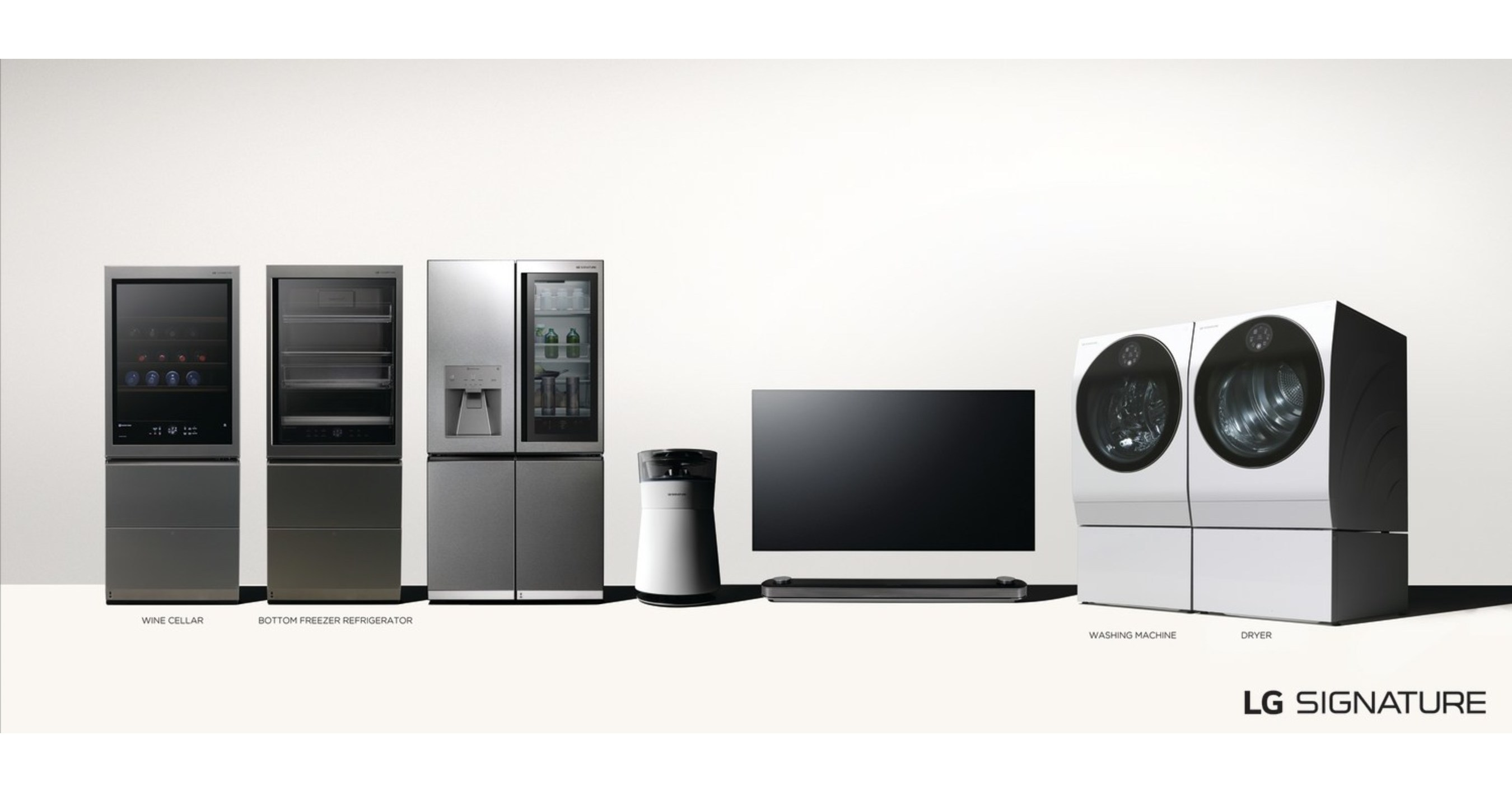 LG erweitert Ultra-Premium-Reihe mit neuen Produkten und Weinkeller im Blickpunkt
