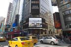 Publicité de la Foire de Canton à Times Square dans la ville de New York. (PRNewsfoto/Canton Fair)