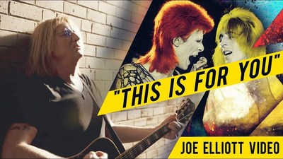 Def Leppard frontman Joe Elliott has released a touching video tribute to his friend and early guitar hero, the late, great legendary musician Mick Ronson.