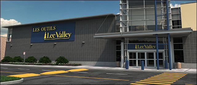 Lee Valley au Centre Laval, ouverture le 3 octobre 2018 (Groupe CNW/FONDS DE PLACEMENT IMMOBILIER COMINAR)
