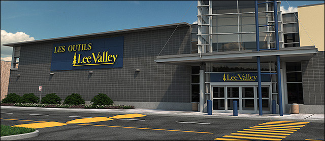 Lee Valley store in Centre Laval. Opening October 3rd (CNW Group/COMINAR REAL ESTATE INVESTMENT TRUST)