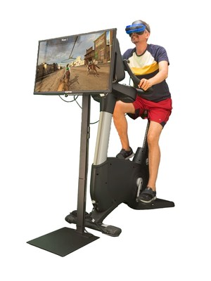 Complete VZfit system added to upright stationary bike