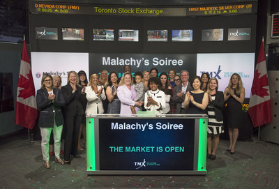 Malachy's Soiree Opens the Market (CNW Group/TMX Group Limited)