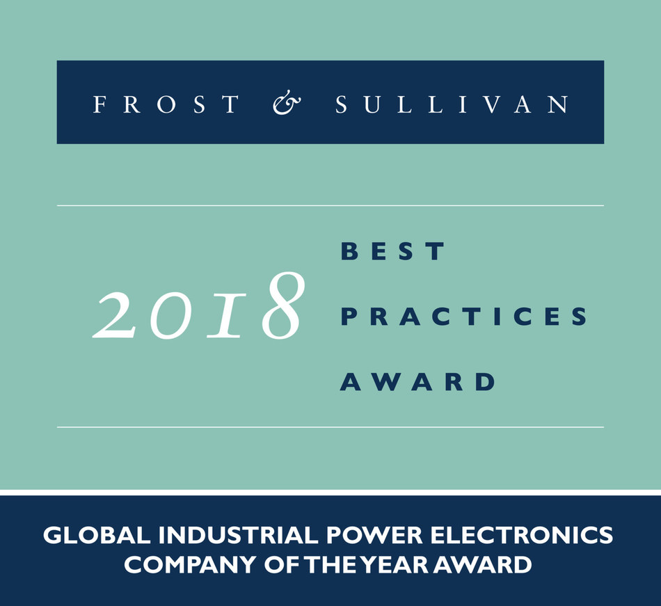 2018 Global Industrial Power Electronics Company of the Year Award