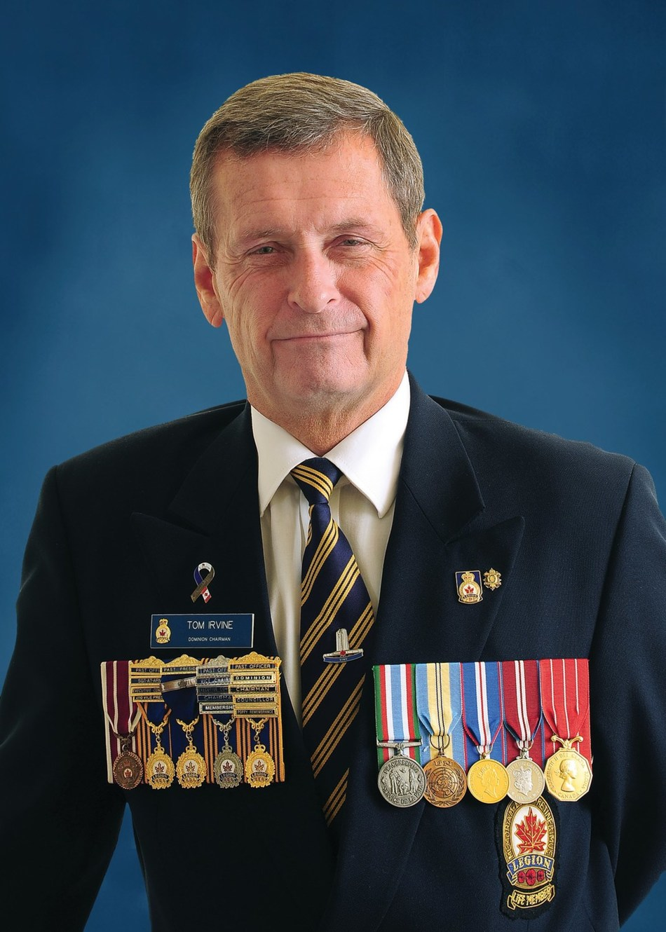 Tom Irvine, President-elect, The Royal Canadian Legion (CNW Group/The Royal Canadian Legion Dominion Command)