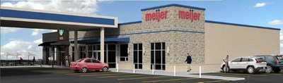 New Meijer convenience store and gas station design