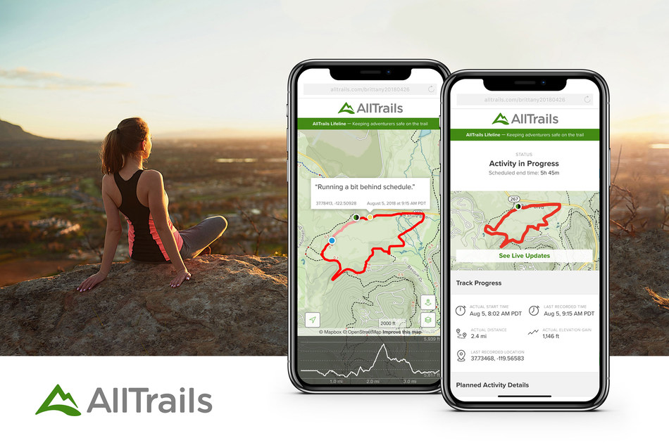 AllTrails Gives Trail Users Peace of Mind With Launch of