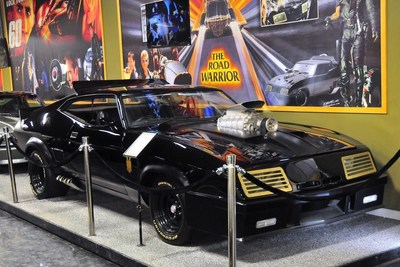 """This """"Mad Max"""" Interceptor is just one of the 30-plus rare finds to be had in an upcoming no-reserve Volo Auto Museum eBay auction. Volo has bucked a national trend of dwindling interest in car museums by keeping its collection ever-changing and adding to its cars of the famous and TV- and film-connected displays."""