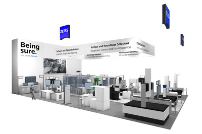 ZEISS Industrial Metrology offers a wide range of quality inspection solutions at IMTS 2018