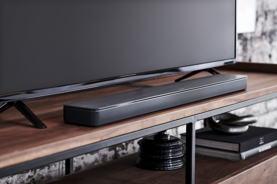 Bose introduces the Soundbar 500 for music and home theater — combining size-defying performance with superior voice pickup and the power of Amazon Alexa.