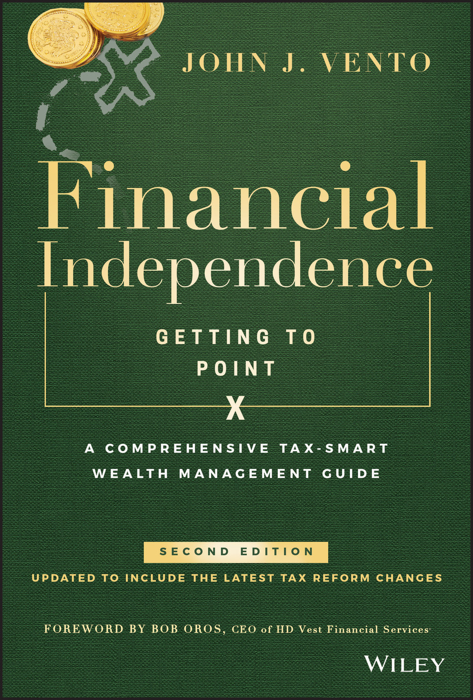 The completely revised second edition of Financial Independence: Getting to Point X is the first book to be published by Wiley covering the Tax Cuts and Jobs Act of 2017, and provides consumers and their financial advisors with the new easy-to-follow roadmap to Point X, including the latest thinking, and best practices following the ratification of the new tax reform.